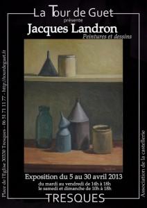 Jacques Landron - La Tour de Guet - Tresques