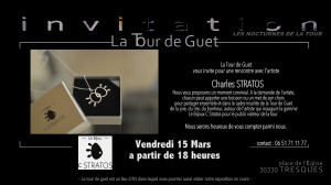 Invitation Stratos TDG 15 mars