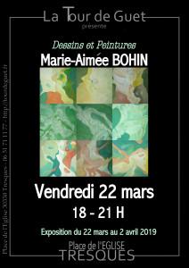 Marie-Aimée Bohin affiche