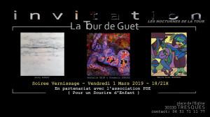 Vernissage Tour de Guet 1 Mars 2019